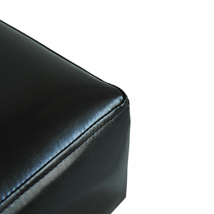Modern Small Ottoman Footrest PU Leather Footstool