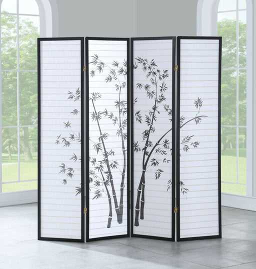 4 Panel Room Divider Folding Privacy Screen