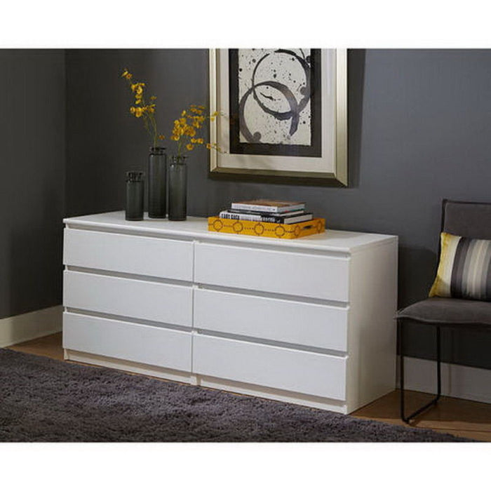 6 Drawer Dresser Bedroom Furniture Storage