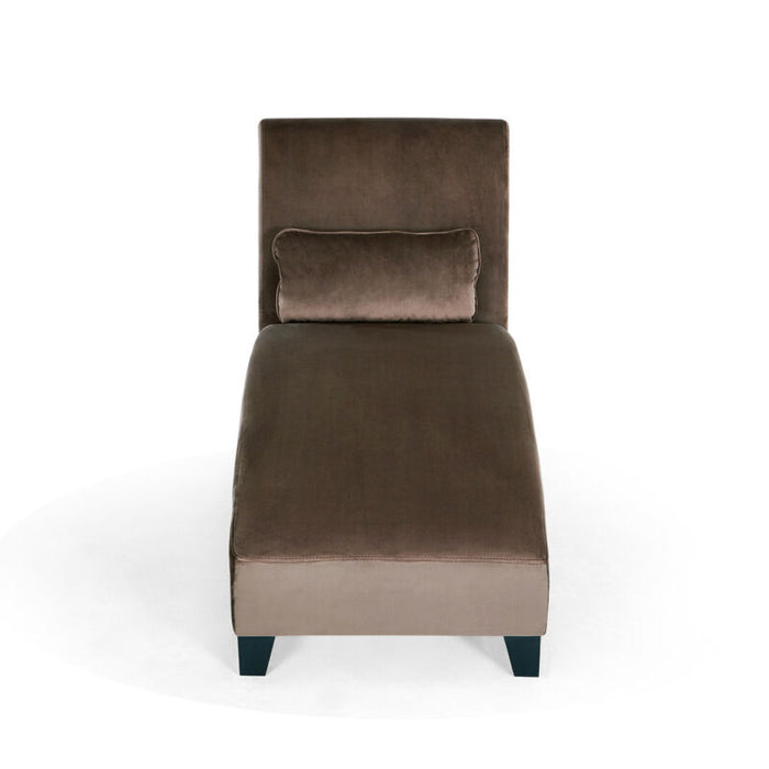 Chaise Lounge Chair Contemporary Sofa Couch Hardwood Legs