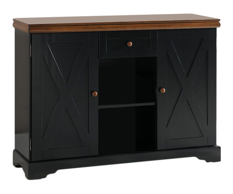 Wood Buffet Server Cabinet Console Table