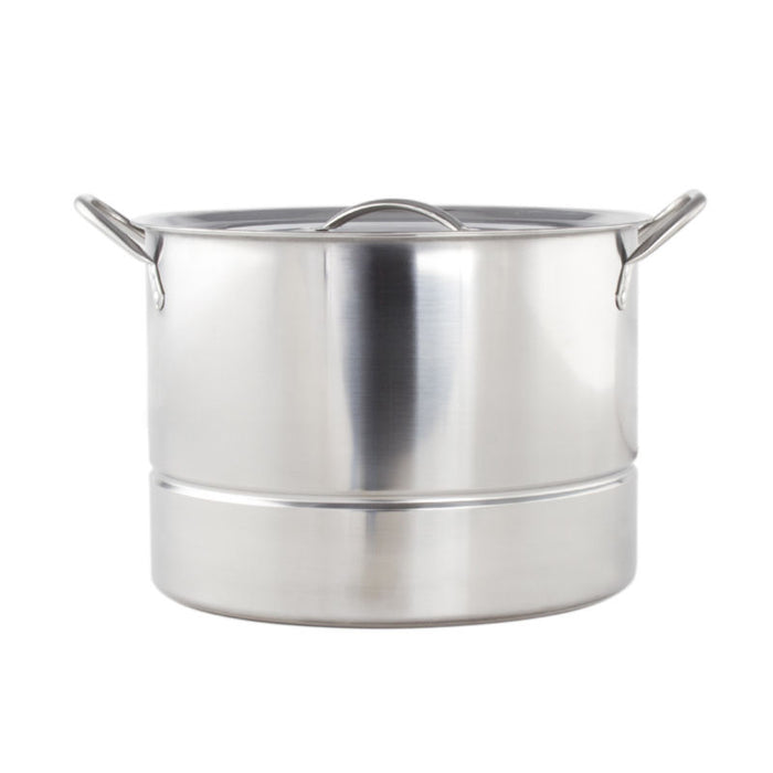 High Quality Stainless Steel 16 Qt. Steamer Stockpot - Toyzor.com