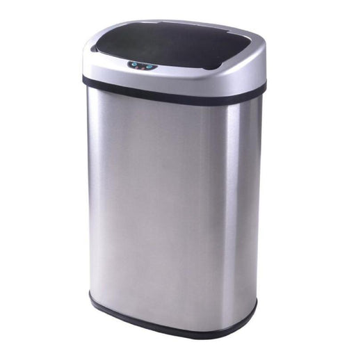 13-Gallon Touch Free Sensor Automatic Touchless Trash Can