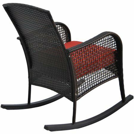 Cambridge Park Wicker Rocking Chair