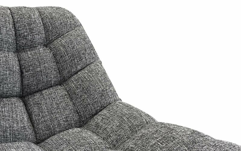 Modern Linen Plush Living Room Lounge Accent Chair