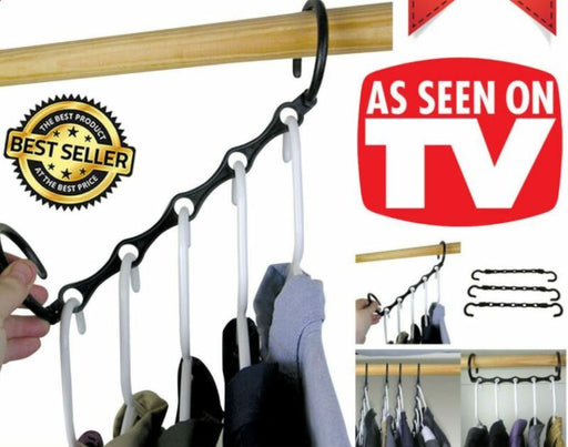 Max Closet Space Saving Magic Hangers Rack (10 Pack)