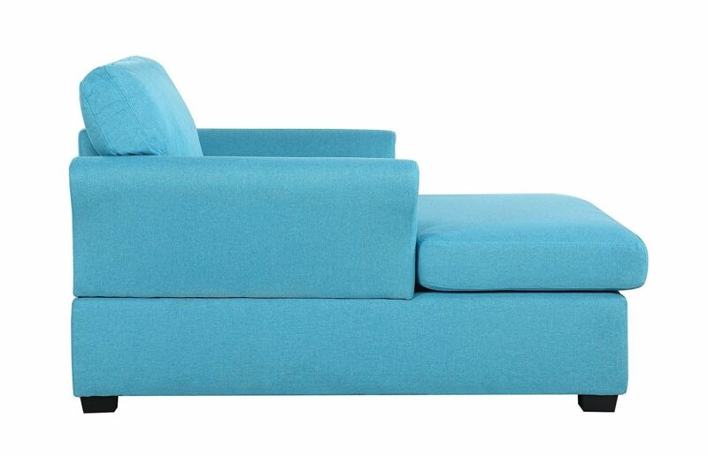 Large Classic Chaise Lounge Single Sofa