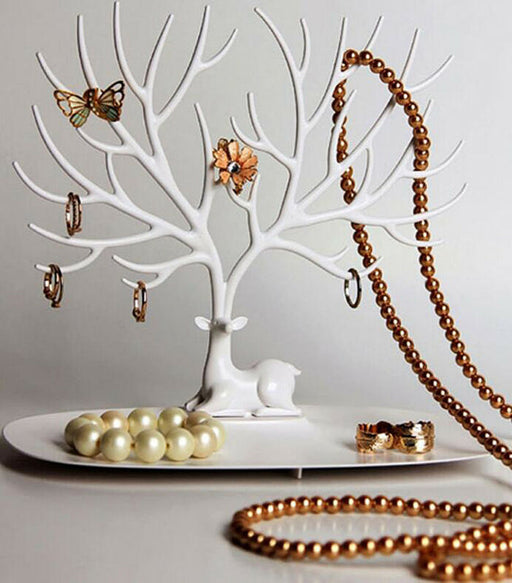 Jewelry Tree Organizer - Necklace, Ring, Earring, Holder Rack