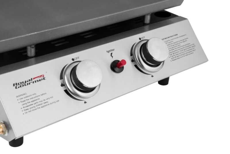 BBQ Propane Gas Grill 2 Burner Tabletop