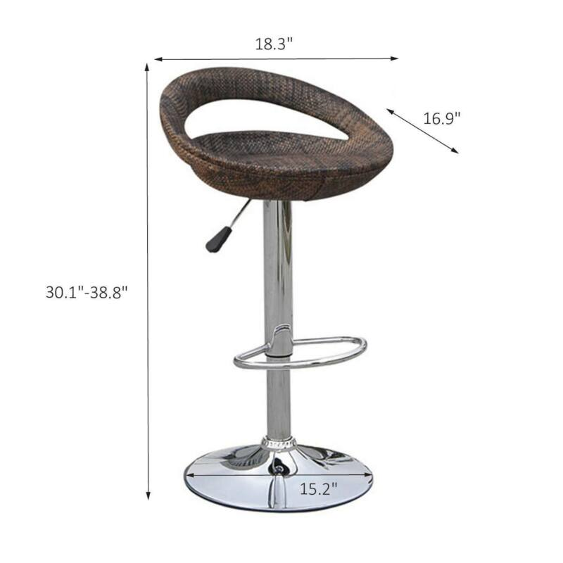 Adjustable Swivel Hydraulic Pub Chair