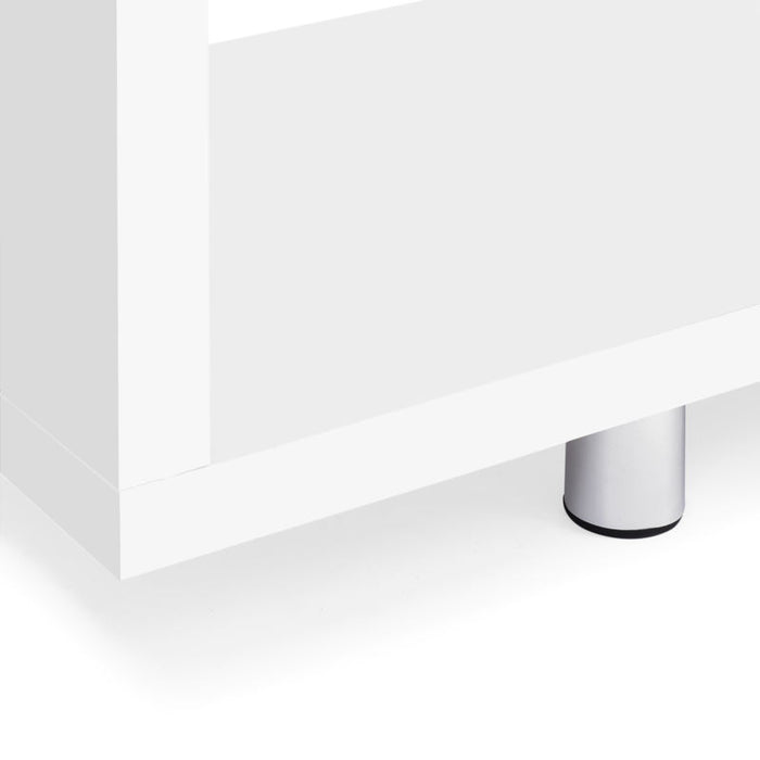 BCP Media Console TV Stand w/ 3 Shelves, Drawer - Toyzor.com