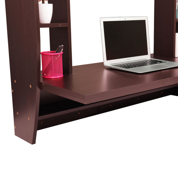 Wall Mount Floating Computer Desk Laptop Table - Toyzor.com