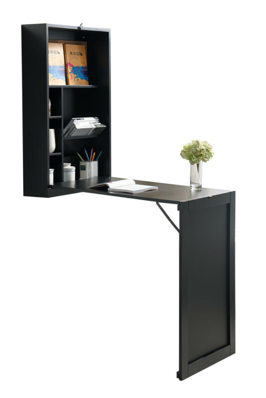 Culver Wall Mount Folding Writing Desk
