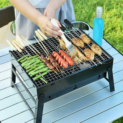 Barbecue Grill Fold Portable Charcoal Outdoor Party
