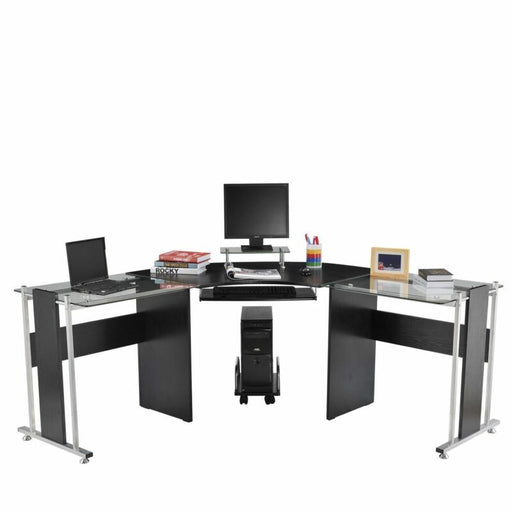 L-Shaped Computer Desk Modern PC Stand Corner