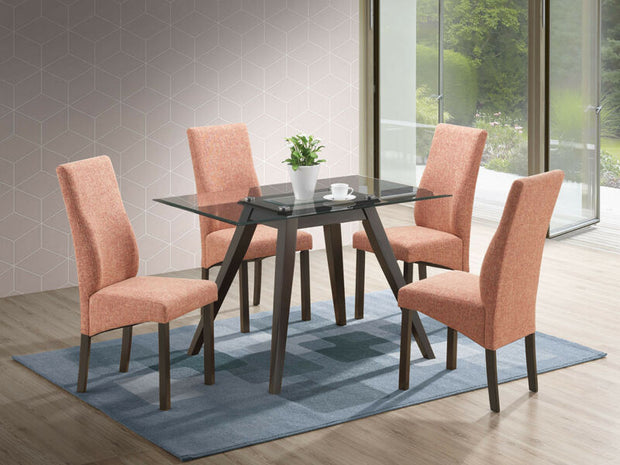 5 Piece Rectangular Dining Set. Table & 4 Chairs