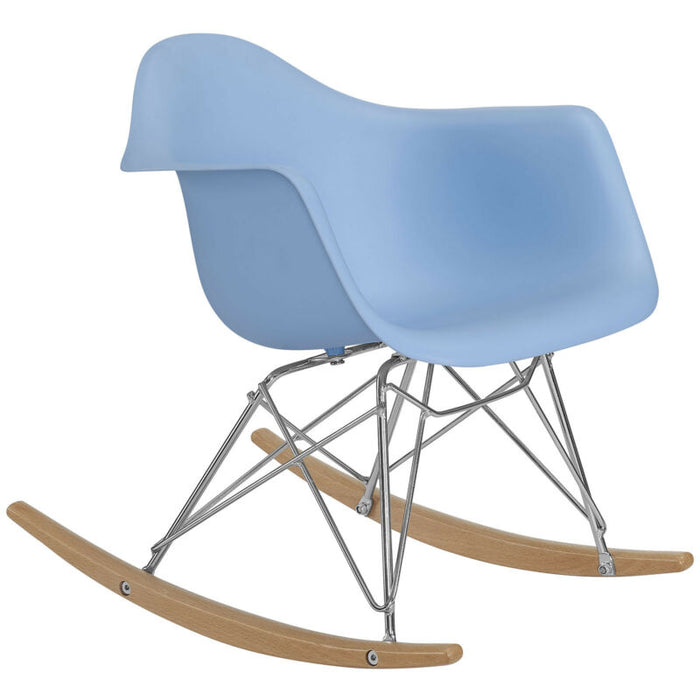 Rocker Kids Chair in Blue