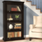 Modern  Bookcase/Shelving with Glass Doors