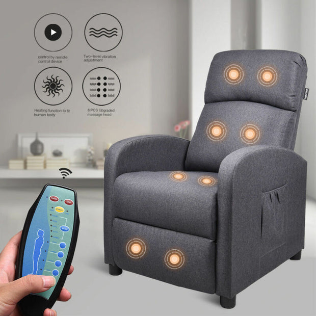 Sofa Recline Adjustable Sleeper Remote Control
