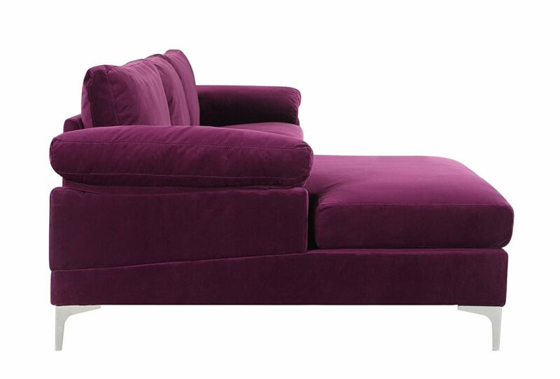 Sectional Sofa L-Shape Couch with Extra Wide Chaise