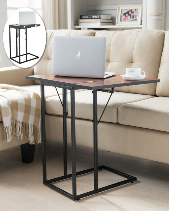 Expandable Magazine Snack Side Sofa Table