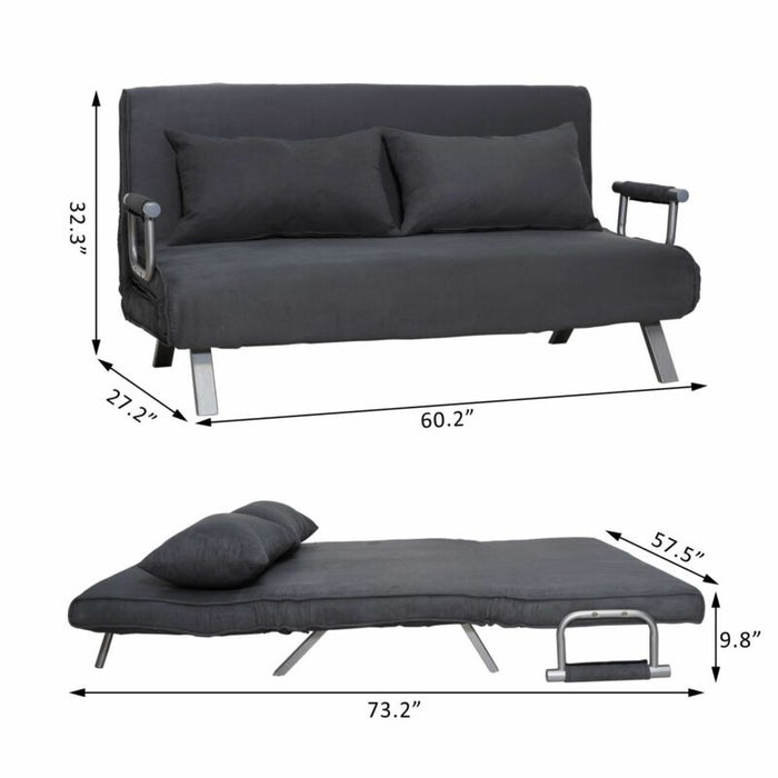 Convertible Sofa Bed  Lounger Chair