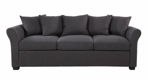 Classic Modern Furniture Living Room Sofa 3 Seater Couch (Dark Grey)