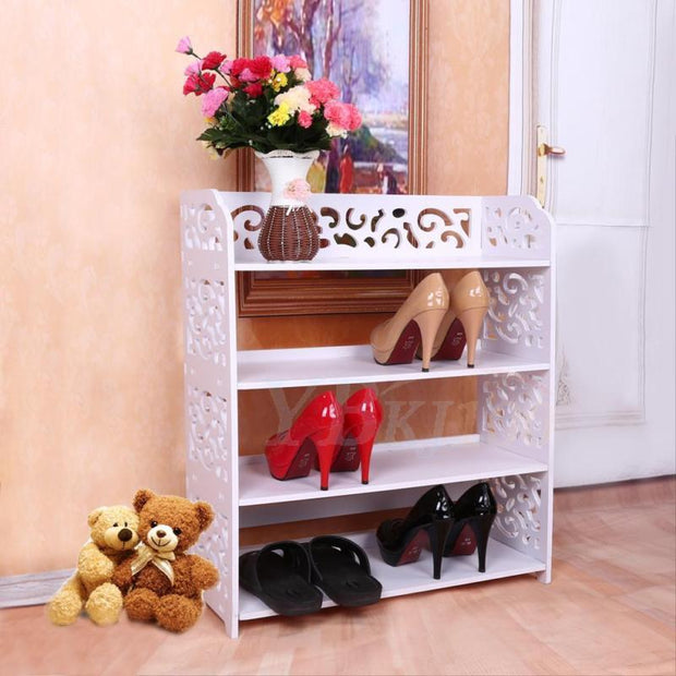 3/4/5 Tiers Shoe Rack Stand