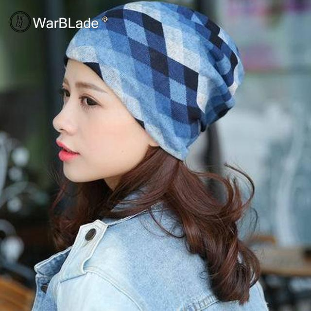 Knitted Scarf & Winter Beanies - CSGZ blue / One Size