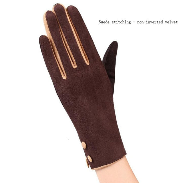 Elegant Cashmere Long Gloves
