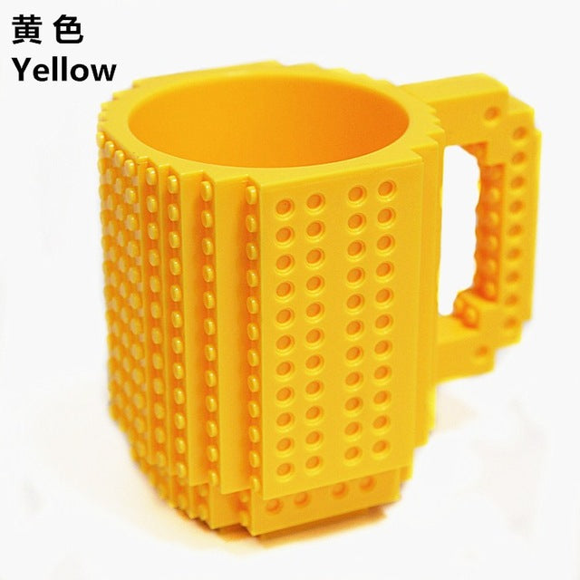 Creative Build on Brick Mug