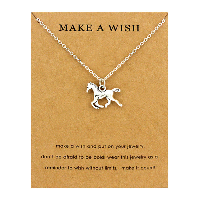 Sea creatures fashion necklace