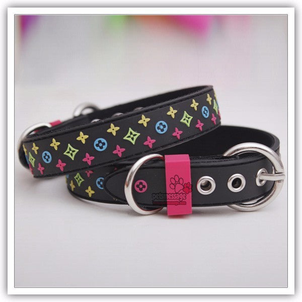 High Quality Collar Lead Rubber & Nylon Leather