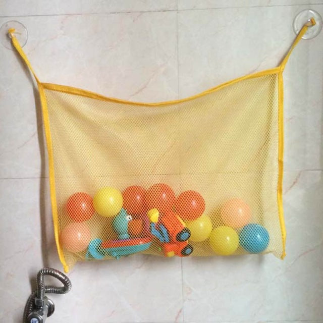 6 Colors Bath Tub Toy Tidy Storage - Toyzor.com