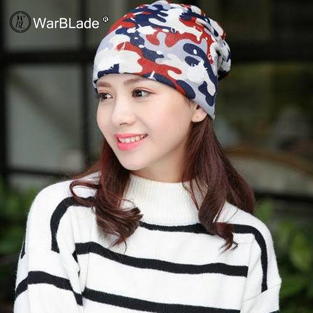 Knitted Scarf & Winter Beanies - MC white / One Size