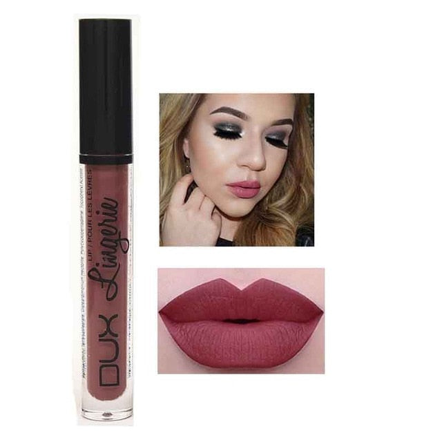 Matte Lipstick Liquid Lip Gloss