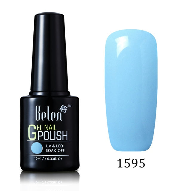 Gradient Based Nail Lacquer Primer Gel Polish