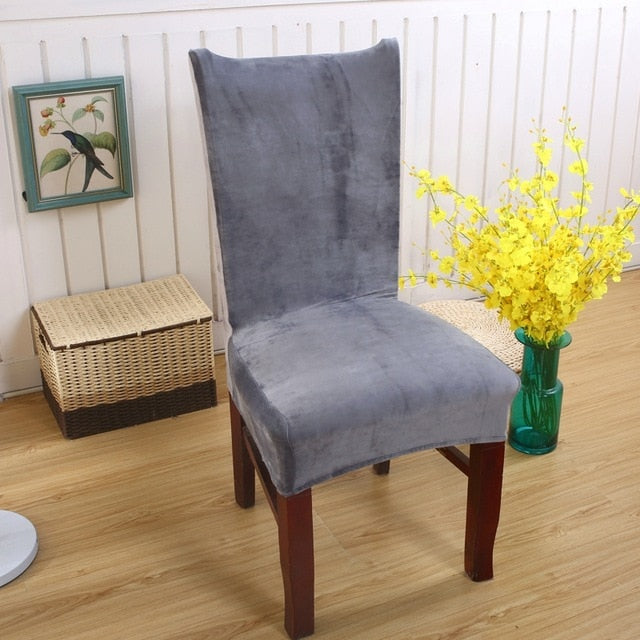 Spandex Dining Chair Cover Dust proof Stretch Chair