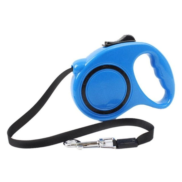 Nylon Dog Leashes Automatic Retractable Extending Walking Dog Lead