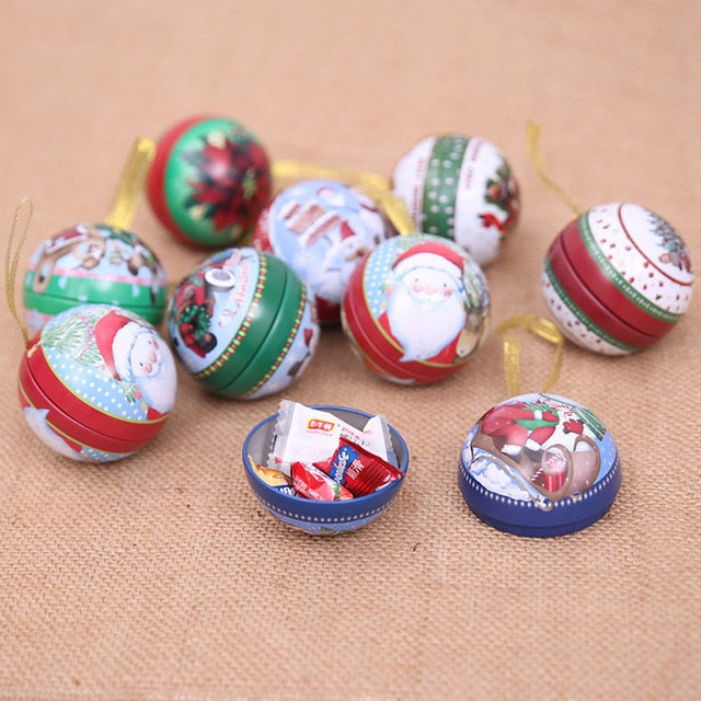 Bauble Candy Box Christmas Tree Decorations Hanging Ornament