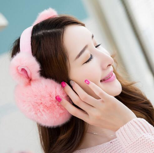 Elegant Rabbit Winter Earmuffs