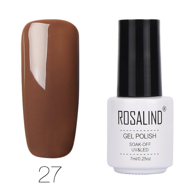 7ml Pure colors Gel Varnish Semi Permanant UV for Nail Art - Toyzor.com