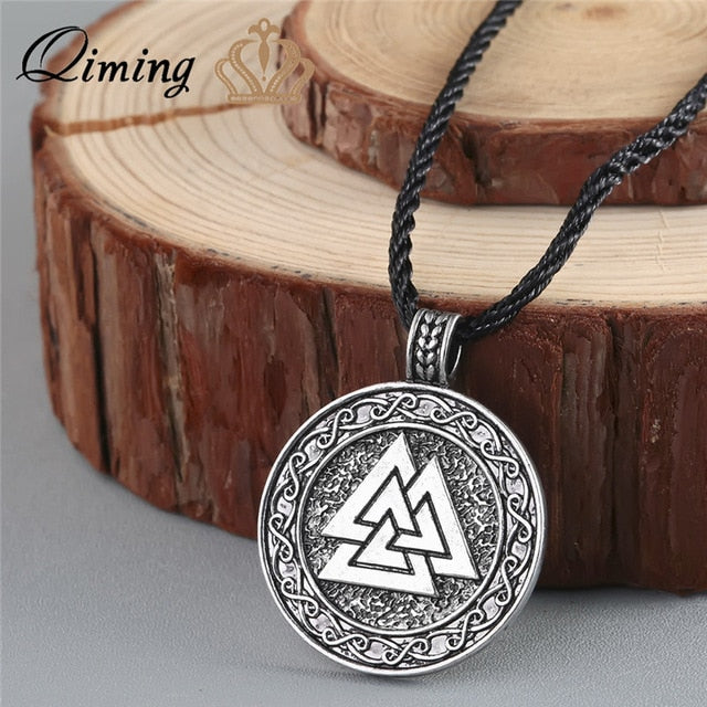 Viking Valknut Necklace