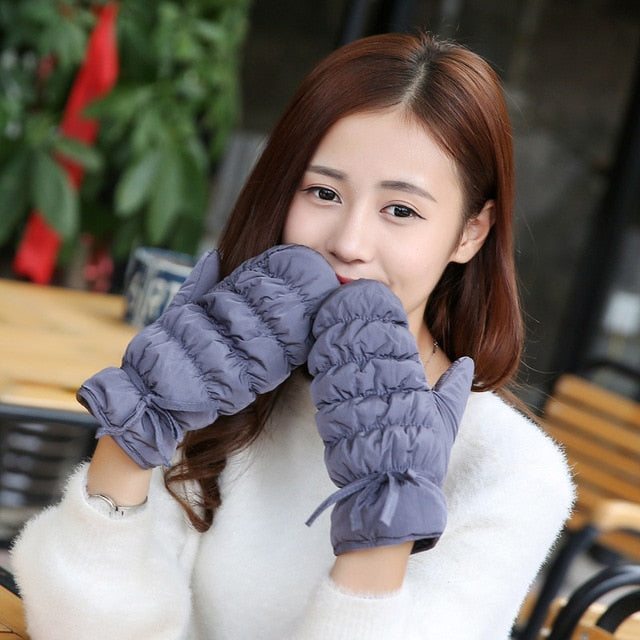 Winter Windproof And Waterproof Cotton Gloves