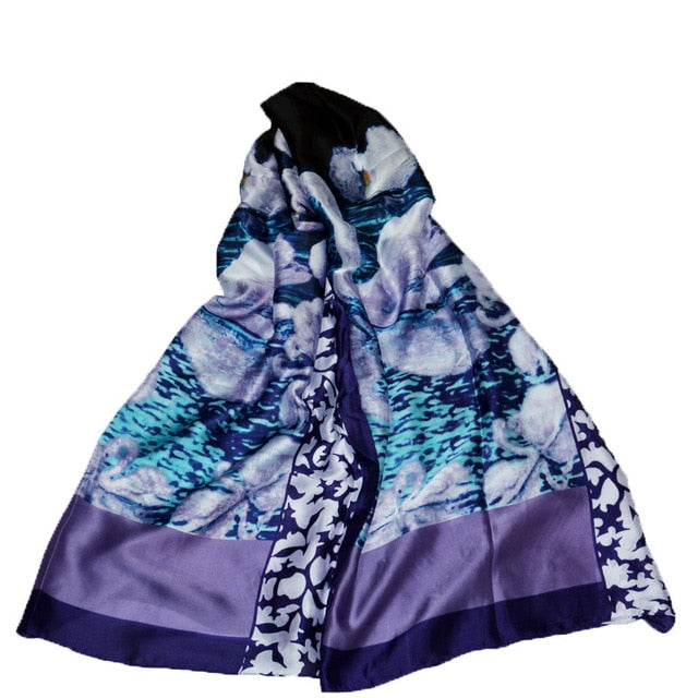 Luxurious Gorgeous Silk Scarf