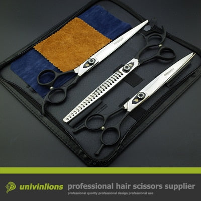 "8"" Professional Scissors Grooming Hairdresser Animal Clippers"