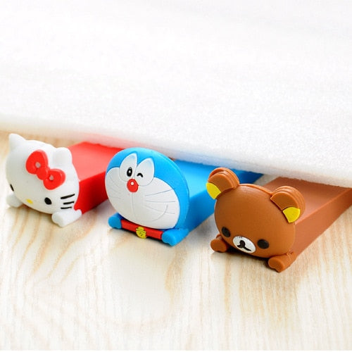 1 piece Random Colors Door Stopper Silicon - Toyzor.com