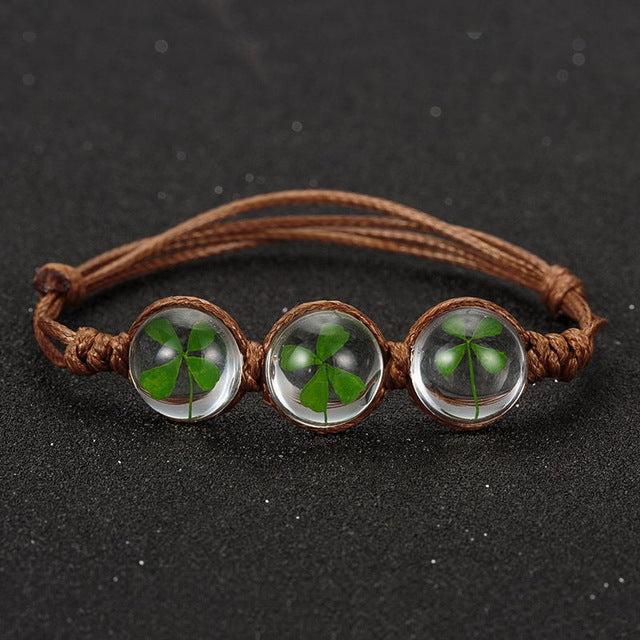 Handmade Glass Ball Bracelet