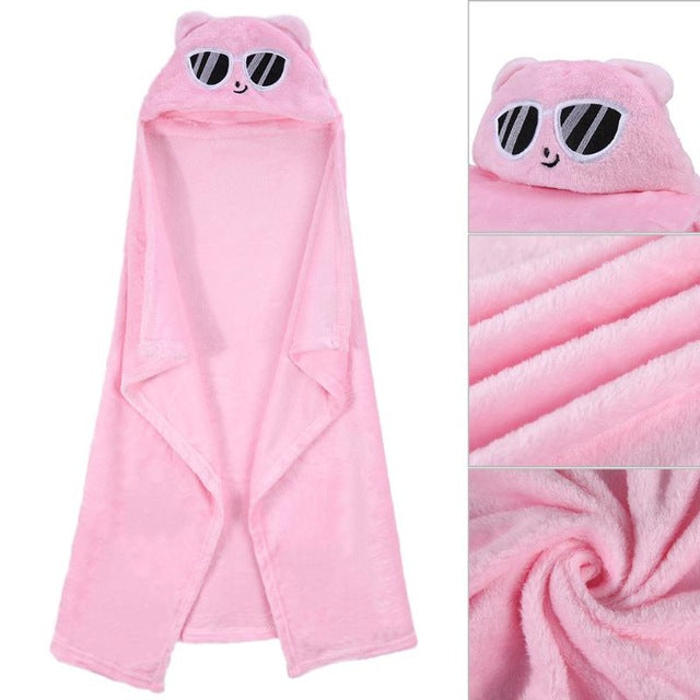 Comfortable Baby Bathrobe - Toddler Baby Bath Towel - Toyzor.com
