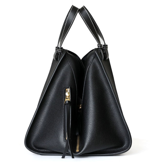 2018 Casual Tote Women Soft Leather Handbags Luxury Brand Designer Bag